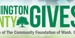 Donate to Washington County Gives on 05/02/17